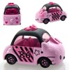 Die Cast Dream Tomica Hello Kitty Stripe Ribbon [Takara Tomy]